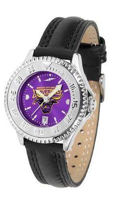Minnesota State University Ladies Leather Wristwatch