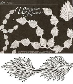 Irish Crochet Lace Motif