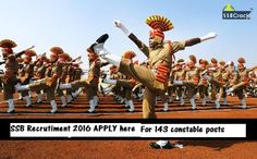 Sashastra Seema Bal Recruitment 2016 | Latest Blogs by 2016governmentjob on India.com
