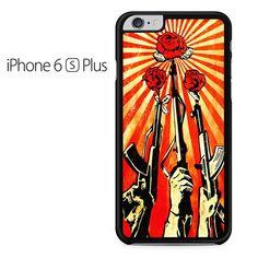 Shepard Fairey Guns And Roses Iphone 6 Plus Iphone 6S Plus Case
