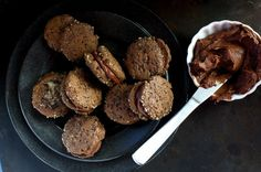 Vegan Chocolate Sandwich Cookies | Namely Marly