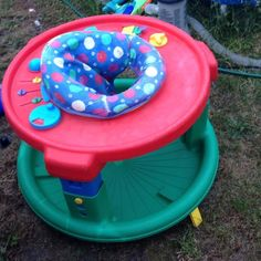 Used exersaucer. Still works