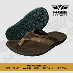 M-GEE Footwear MG-GLADIATOR Coffee