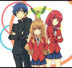 Aisaka Taiga, Takasu Ryuuji, Kushieda Minori, Inko-chan