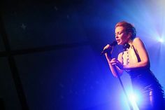 14.02.14 Kylie Minogue Performing At The Gaité Lyrique, Paris, France. #KissMeOnce #KM2014