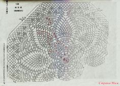 I really want to crochet a large throw / blanket with this doily pattern, it has enough rounds that it would come out decently big with a large hook and adequate yarn Crochet Doily Rug, Crochet Dollies, Free Crochet Doily Patterns, Crochet Tablecloth, Crochet Round, Crochet Home, Thread Crochet, Filet Crochet, Crochet Designs