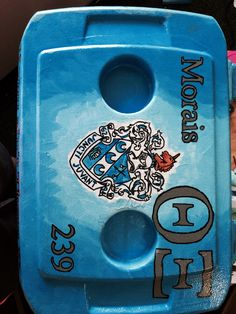 Robby's fraternity painted cooler part 3. Semi formal. Fraternity. Painted. Cooler. Eagles. Red solo cup. Brasil. Theta Xi.