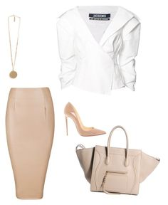 """""""Untitled #65"""" by jsmalves on Polyvore featuring Givenchy, Christian Louboutin and Jacquemus"""