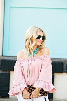 Off-The-Shoulder Under $50 | Chronicles of Frivolity