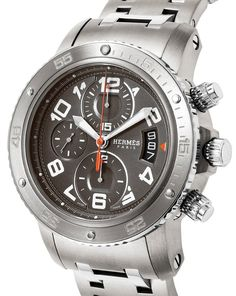 Hermes Watch Clipper Diver Chronograph 200m Waterproof Cp2.941.230.4963