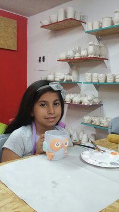 Sofi y su Mug de búho♡♡Tiempo de crear en Taza&Pincel.