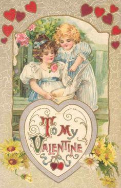 Vintage Valentine's Day Images | Public Domain