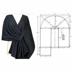 Fashion Sewing, Diy Fashion, Ideias Fashion, Dress Sewing Patterns, Clothing Patterns, Sewing Clothes, Diy Clothes, Sewing Hacks, Sewing Tutorials