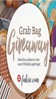 From now until Thursday, January enter for a chance to win one of 50 fabric grab bags! Each grab bag contains an assortment of cuts of fabric! Winners can choose from 3 gra… Quilting Tools, Log Cabin Quilts, Hexagon Quilt, Quilting For Beginners, Enter To Win, Easy Quilts, Grab Bags, Giveaway, Decorative Plates