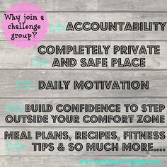 Why Join a Challenge Group? What is a challenge group? Accountability group