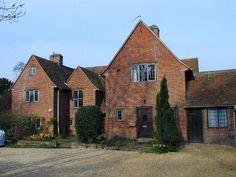 Description: Lady Margaret Road: The End House Date built: 1911 Architect: Baillie Scott copyright see http://www.cambridge2000.com
