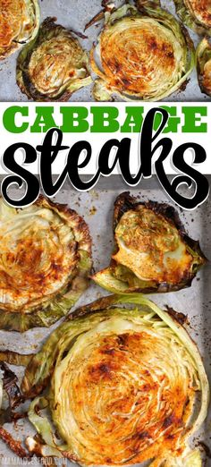 Hypoallergenic Pet Dog Food Items Diet Program Cabbage Steaks Easy Recipe - Cabbage Steaks Roasted Until The Edges Are Perfectly Crispy Are Savory And Delicious, Super Easy To Make, And Taste Amazing Side Dishes Easy, Side Dish Recipes, Dinner Recipes, Vegan Recipes Easy, Vegetable Recipes, Vegetarian Recipes, Easy Cooking, Cooking Recipes, Grilled Steak Recipes