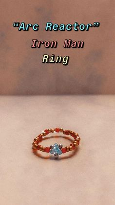 Diy Wire Jewelry Rings, Handmade Wire Jewelry, Diy Rings, Seed Bead Jewelry, Beaded Rings, Seed Beads, Beaded Jewelry, Jewelery, Diy Crafts To Do