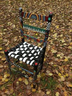 Painted chair by MJKL