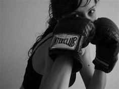 kickboxing.......get it girl
