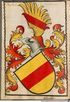 Scheibler'sches Wappenbuch Süddeutschland, um 1450 - 17. Jh. Cod.icon. 312 c  Folio 28