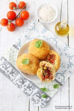 #Arancine palermitane #pomodoro #ricetta #recipes #tomato #recipe #italianrecipe