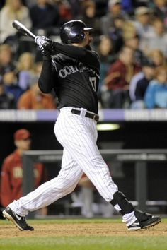 Game 7, 4/13/12, Helton hits an RBI double giving the Rockies the lead in the eighth inning. W 7-6
