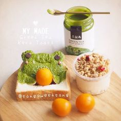 Green Tea Toast