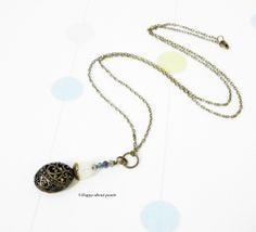 Kette Vintage von Happy-about- Pearls auf DaWanda.com