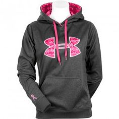 Under Armour Storm Armour Fleece Printed Big Logo Hoodie With Breast Cancer Awareness Ribbon Athletic Outfits, Athletic Wear, Sport Outfits, Cool Outfits, Nike Under Armour, Under Armour Hoodie, Style Me, Cool Style, Under Armour Sweatshirts