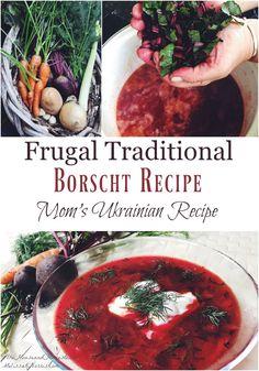 Easy Borscht Recipe