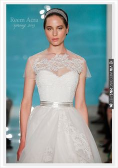 Reem Acra Spring 2013 | CHECK OUT MORE IDEAS AT WEDDINGPINS.NET | #weddingfashion
