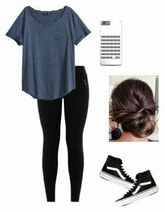 35 Trendy How To Wear Leggings With Vans Casual Outfits #howtowear