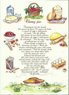 cherry pie (ricetta)