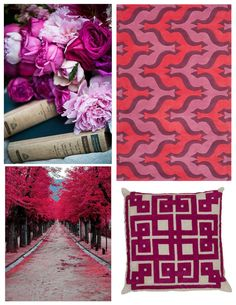Magenta is bold, bright and dramatic - it will add a pop of color to any space! Surya has many rugs, pillows and poufs in this majestic color.