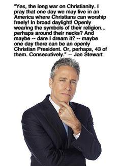Ha. Love Jon Stewart.