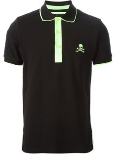 Shop Philipp Plein 'No Way Back' polo shirt in Gore from the world's best independent boutiques at farfetch.com. Over 1500 brands from 300 boutiques in one website.