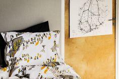Scandinavian Home Textiles and Design Since 1820 City Scene, Blooming Flowers, Scandinavian Home, Spring Home, Home Textile, Duvet Covers, Textiles, Blanket, Pillows