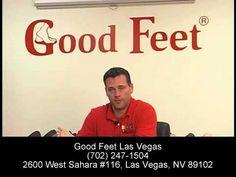 Metatarsal Foot Pain Relief - Heel Pain Arch Back Pain Plantar Fasciitis -- Good Feet Las Vegas - YouTube
