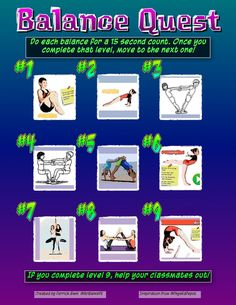 """""""Finally made my own Self Progression sheet. Thanks for the inspiration and thanks for making this easy to do! I'm gonna try this out with my at the end of our Gymnastics Unit. Pe Activities, Obstacle Course, Task Cards, Gymnastics, Homeschooling, Self, Thankful, The Unit, Teaching"""