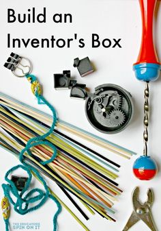 Build an Inventor's Box: A STEM Activity for kids