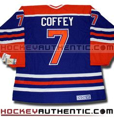 Paul Coffey Edmonton Oilers CCM vintage jersey | Hockey Authentic