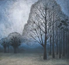 """""""The Tall, Tall Trees"""" by Richard Cartwright (pastel)"""