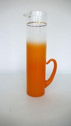 Tangerine Blendo Pitcher