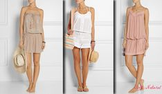 Outfits for Soft Natural (Kibbe)- summer style.  Typ urody Soft Natural – uwodzicielka