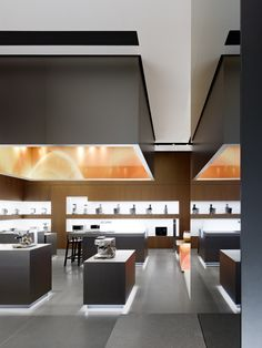 BORK flagship store in Moscow by Ippolito Fleitz Group -home appliances like jewelry