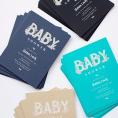 Instantly customizable baby shower invites with over 100 design options. Designs made in collaboration with independent creatives. Birthday Invitations Kids, Baby Shower Invitations, Engagement Invitations, Wedding Invitations, Envelope Address Printing, Baby Thank You Cards, Shipping Envelopes, Addressing Envelopes, Kids Cards