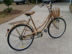 Bamboo bicycle...how cool