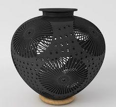 Oaxacan black pottery, barro negro. #ceramics #pottery