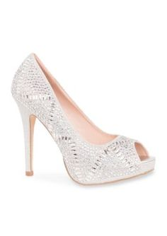 Lauren Lorraine Silver Elissa 3 Heel
